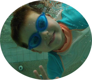 Swimming Liam