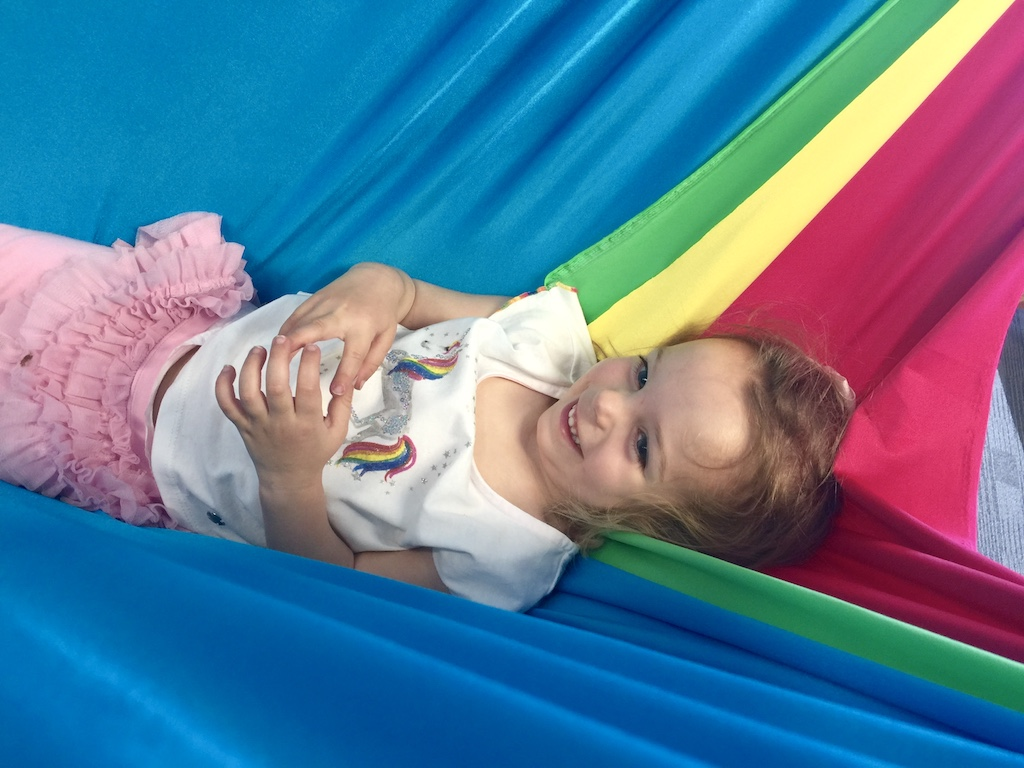 child-in-hammock